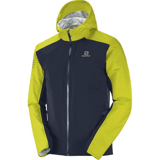 Salomon Bonatti WP Jacket - Night Sky/Citronelle
