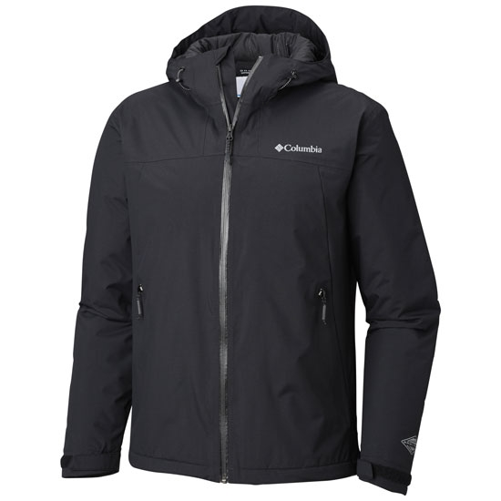 Columbia Top Pine Insulated Rain Jacket - Black