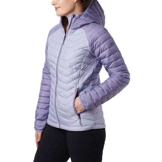Columbia Powder Lite Hooded Jacket - Twilight/Dusty Iris