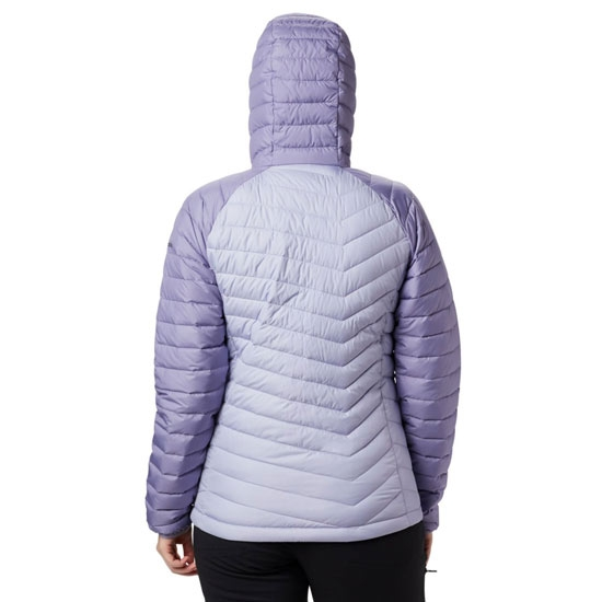 Columbia Powder Lite Hooded Jacket - Photo of detail