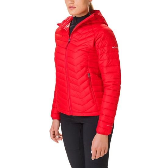 Columbia Powder Lite Hooded Jacket - Red Lily