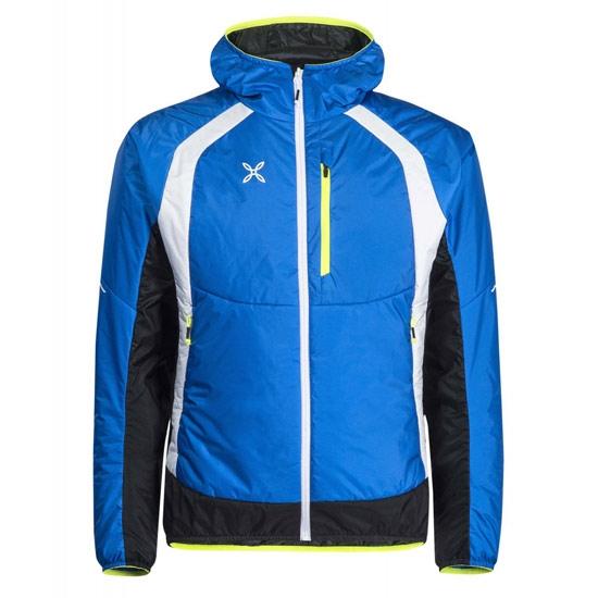 Montura Vulcan Hoody Jacket - Blue/White