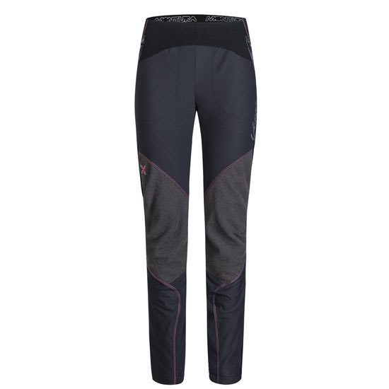 Montura Vertigo Pants W - Nero/Rosa Sugar