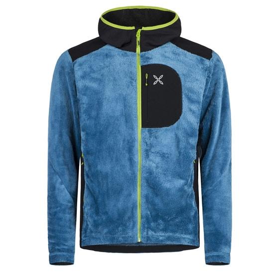 Montura Adventure Polar Hoody Jacket - Blu Ottanio