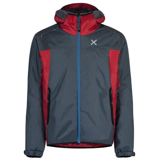 Montura Nevis Jacket - Piombo/Rosso