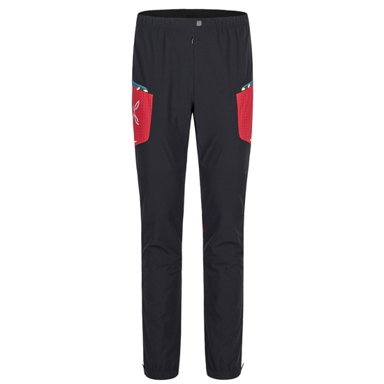 Montura Ski Style Pants - Nero/Rosso