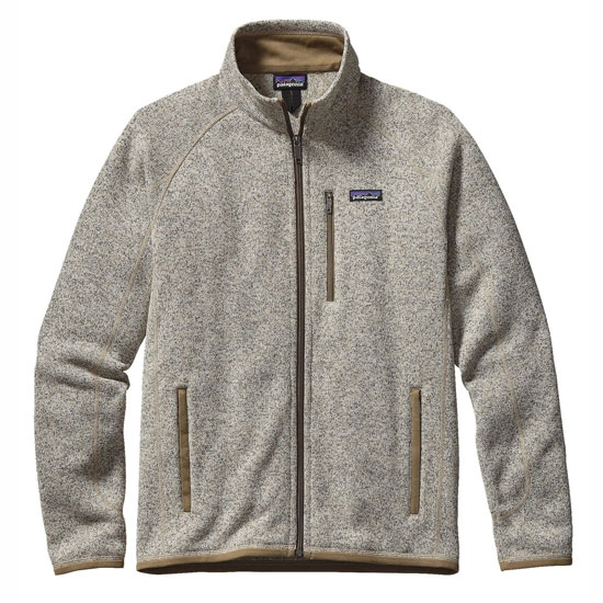 Patagonia Better Sweater Jacket - Bleached Stone