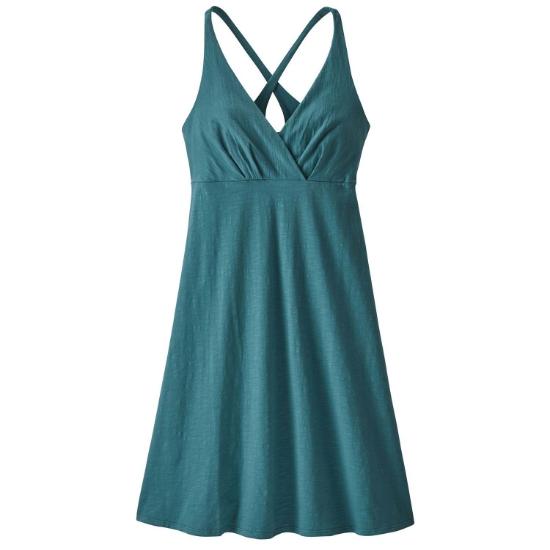 Patagonia Amber Dawn Dress W - Tasmanian Teal