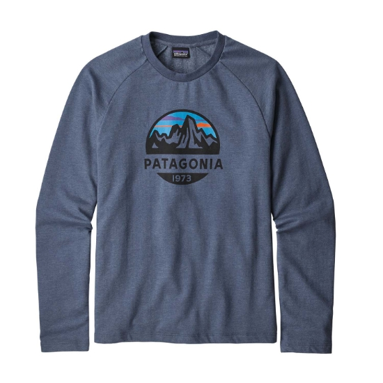 Patagonia MS FITZ ROY SCOPE LW CREW SWEATER - Dolomite Blue