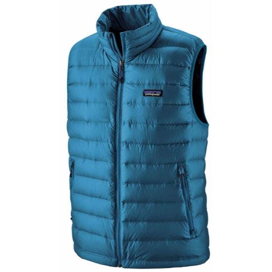 Patagonia Down Sweater Vest - Balkan Blue