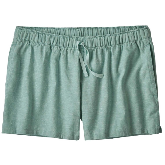 Patagonia Island Hemp Baggies Shorts W - Cross Weave-Atoll Blue