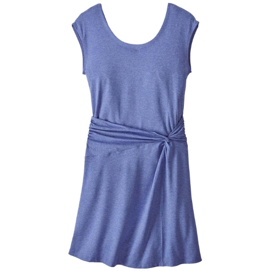 Patagonia Seabrook Twist Dress W - Violet Blue