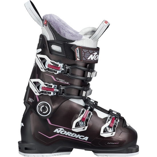 Nordica Speedmachine 95 W Thermoformable - Nero Perla/Ne/Viola