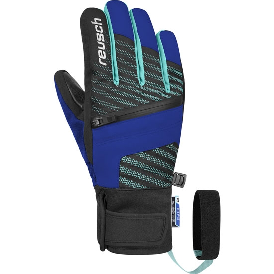 Reusch Theo R-Tex® Xt Jr - Black/imperial blue