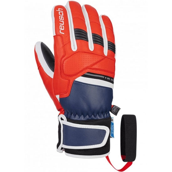 Reusch Be Epic R-TEX® XT - Dress Blue/Fire red