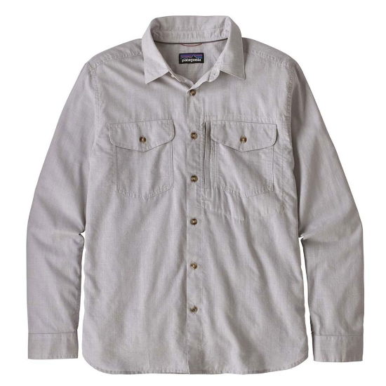 Patagonia Cayo Largo II Shirt - Chambray: Feather Grey