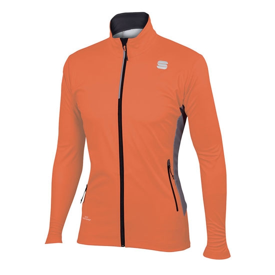 Sportful Squadra Ws Jacket - Orange Sdr/Anthracite