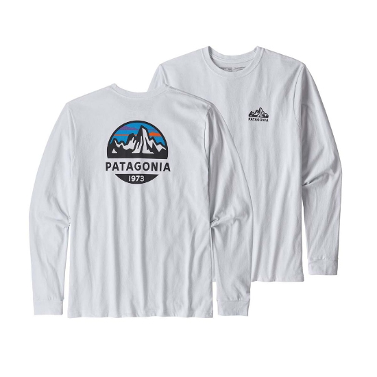 Patagonia Fitz Roy Scope Responsibili-Tee - White