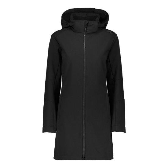 Campagnolo Coat Zip Hood W - U901
