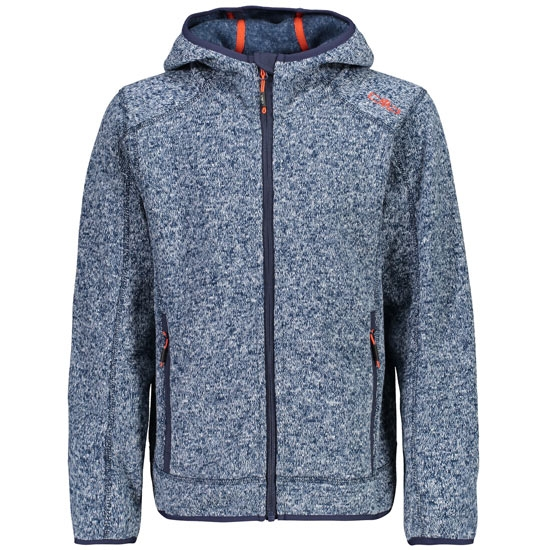 Campagnolo Knitted Fix Hooded Jr - Inchiostro