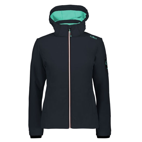 Campagnolo Zip Hood Softshell W - Antracite