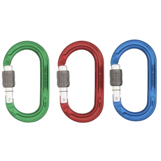 Dmm Ultra O Screwgate (Pack 3) - Blue/Red/Green