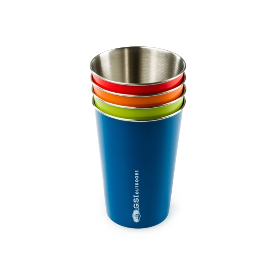 Gsi Outdoors Glacier Inox Pint Set - Photo of detail