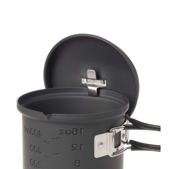 Esbit Solid Fuel Cookset 585ml - Photo of detail