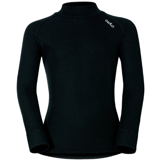 Odlo Top Turtle Neck Active Warm Kids - Black