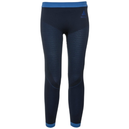 Odlo Bottom Long Performance Warm Kids - Diving Navy
