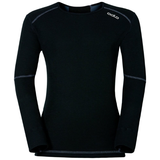 Odlo Top Crew Neck Active X-Warm Kids - Black