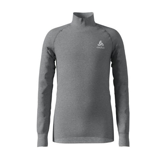 Odlo Top Turtle Neck Active Warm Kids - Grey