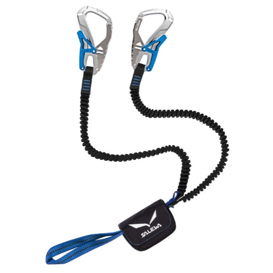Salewa Set Via Ferrata Ergo Core - Silver/Royal Blue