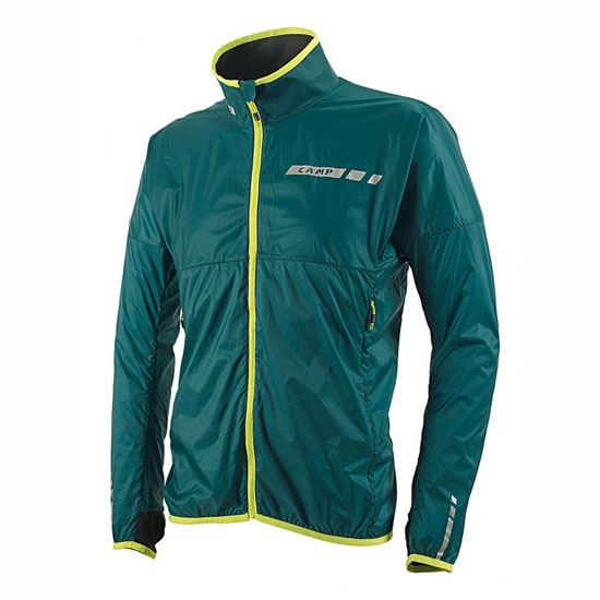 Camp Fast Jacket - Green Blue