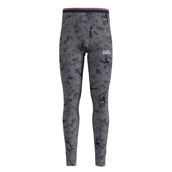 Odlo Active Warm Original Pants - Grey Melange