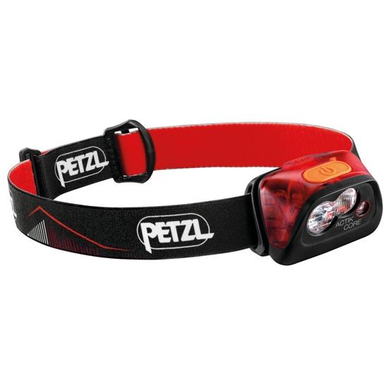 Petzl Actik Core 450 lm - Rojo
