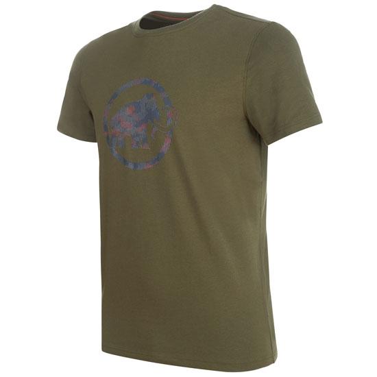 Mammut Mammut Logo T-Shirt - Iguana Prt1