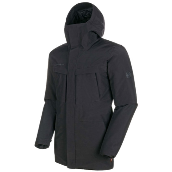 Mammut Chamuera HS Thermo Hooded Parka - Black