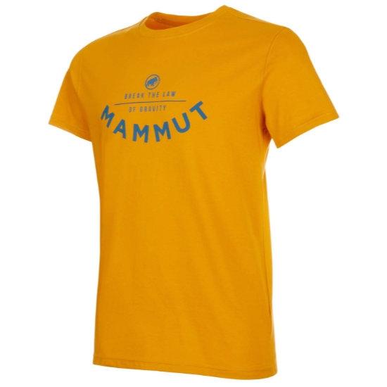 Mammut Seile T-Shirt - Golden Prt2