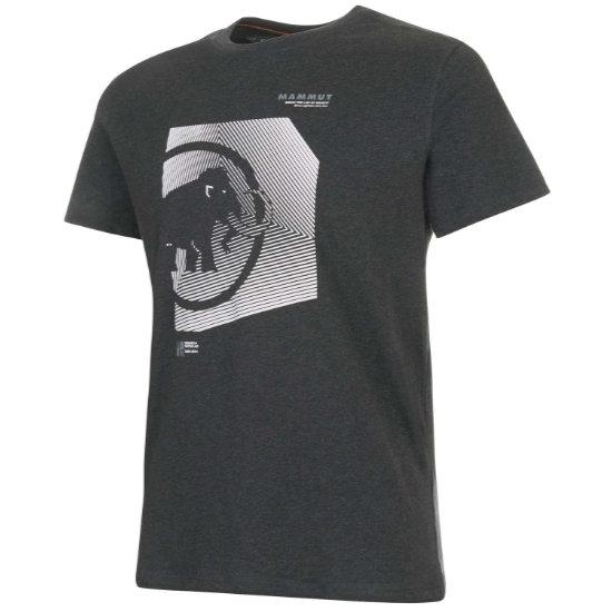 Mammut Sloper T-Shirt - Phantom Melange Prt2