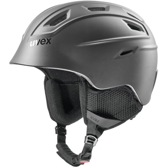Uvex Fierce Helmet - Matte Black