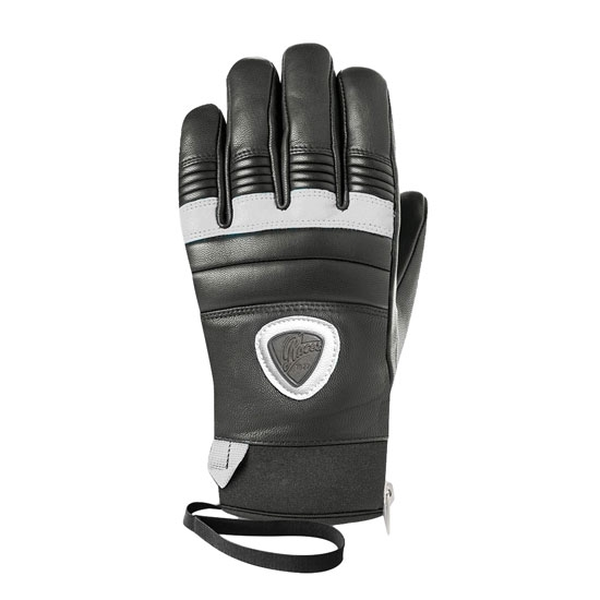 Racer 90 Leather W - Black/White