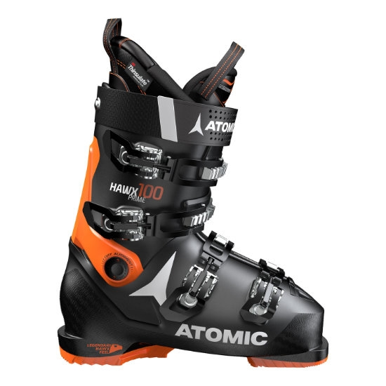 Atomic Hawx Prime 100 Thermoformable - Black/Orange