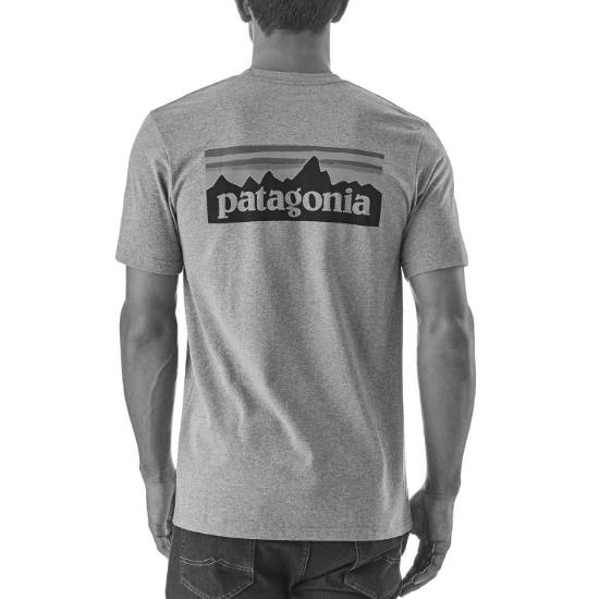 Patagonia P-6 Logo Responsibili Tee - Photo of detail