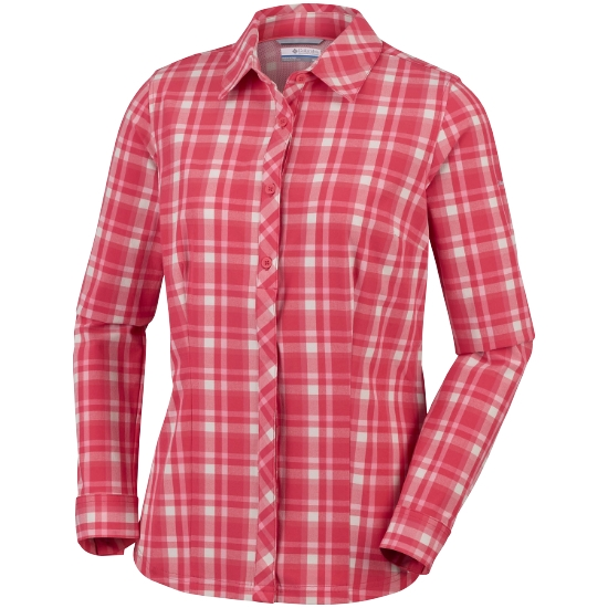 Columbia Saturday Trail Plaid Ls Shirt W - 633