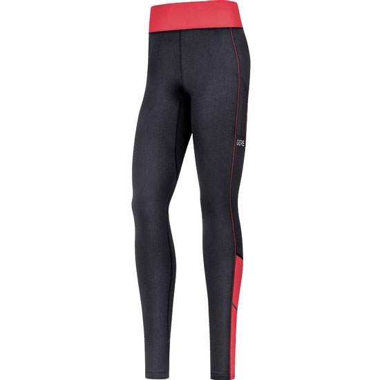 Gore R3 Thermo Tights W - Black/Hibiscus Pink