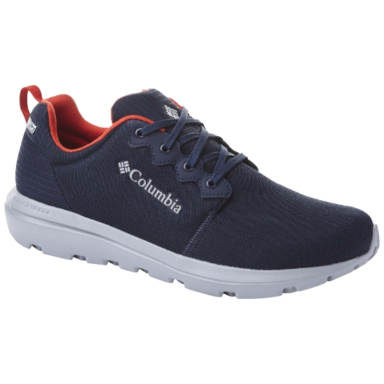 Columbia BACKPEDAL OUT - Collegiate Navy/Fiery Red