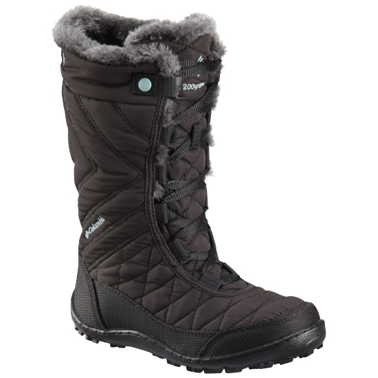 Columbia Minx Mid Wp Omni-Heat Jr - Black/Ice