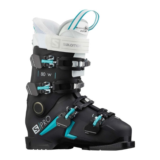 Salomon S/PRO 80 W - Black / Scuba Blue / White