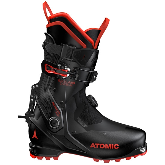 Atomic Backland Carbon Thermoformable - Black/Red